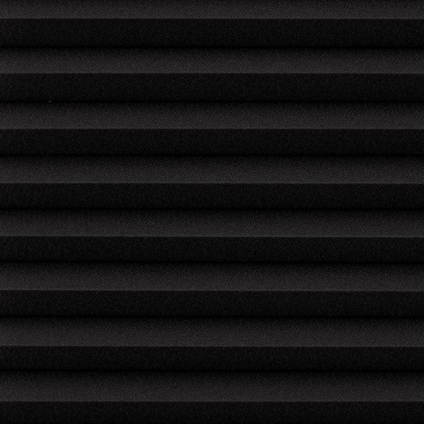 Cellular Shades - Designer Textures Room Darkening Black 19870147