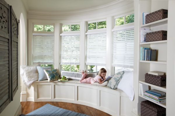 Stock Premium Cordless Faux Wood Blinds