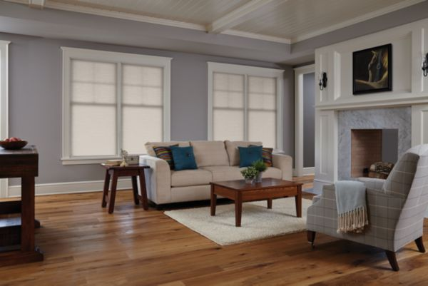 Stock Cordless Double Cell Cellular Shades