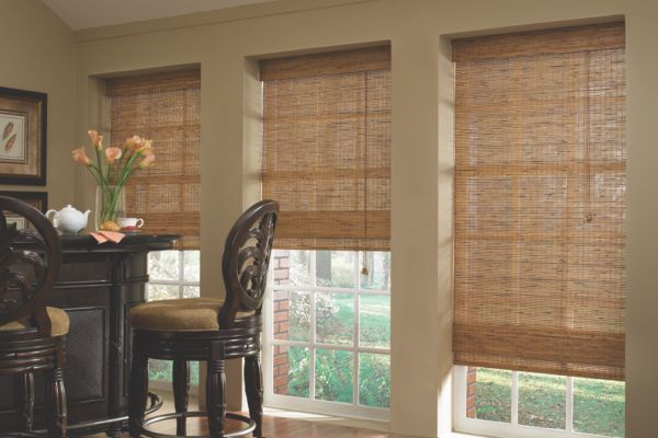 Stock Natural Woven Shades