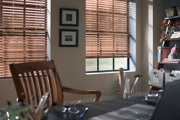 Stock Real Wood Blinds