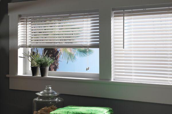 stock vinyl blinds