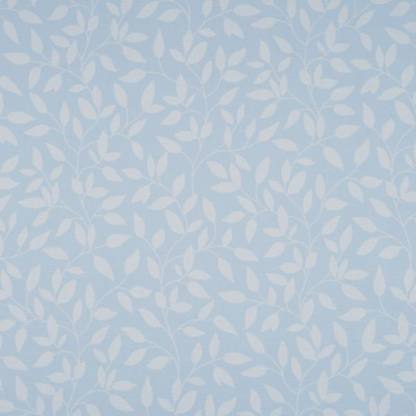 Panel Track - Olive Leaves Light Filtering Fabric Liner Light Jade 114PR018