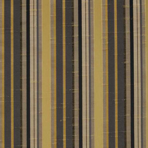 Roman Shades - Narrow Stripe Light Filtering Fabric Liner Flagstone 11133306