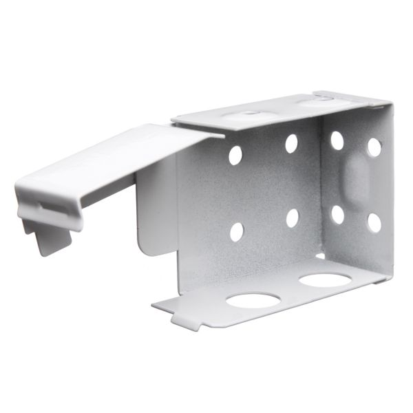 "2"" Wood Brackets White - pair (2 brackets)"