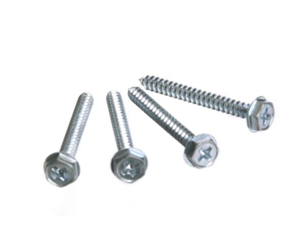 "Hex Screws, 1.25"" #6 - 4 PACK"