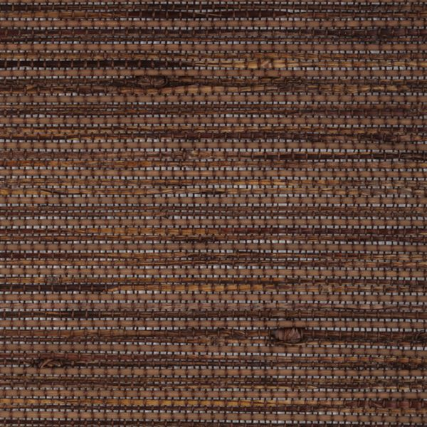 Panel Track Shades - Bay Weave Brown