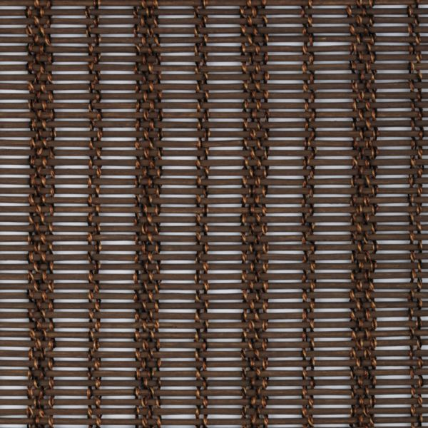Panel Track Shades - Braided Rattan Chocolate
